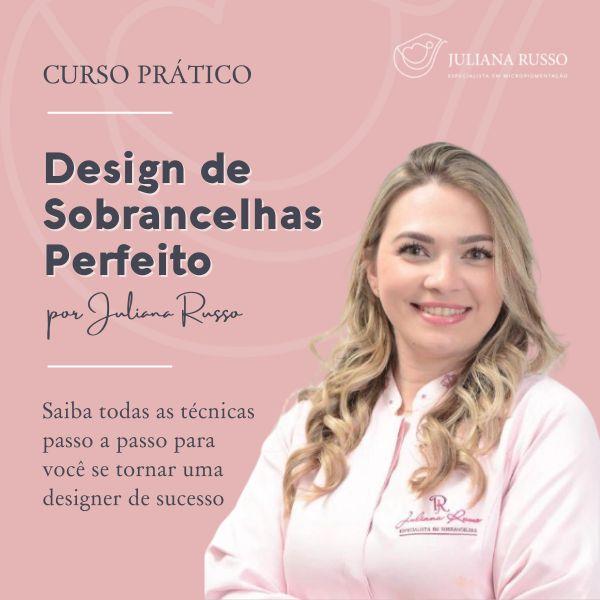 Imagem principal do produto Design de Sobrancelha Perfeito - Curso Prático