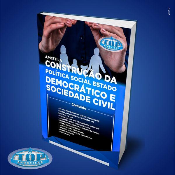 Imagem principal do produto Ebook Construção da Política Social Estado Democrático e Sociedade Civil