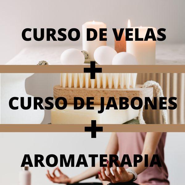 Imagem principal do produto Curso fabricación de Velas + Jabones