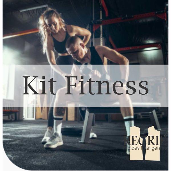 Imagem principal do produto KIT FITNESS - Recrie Moda - Moldes Inteligentes