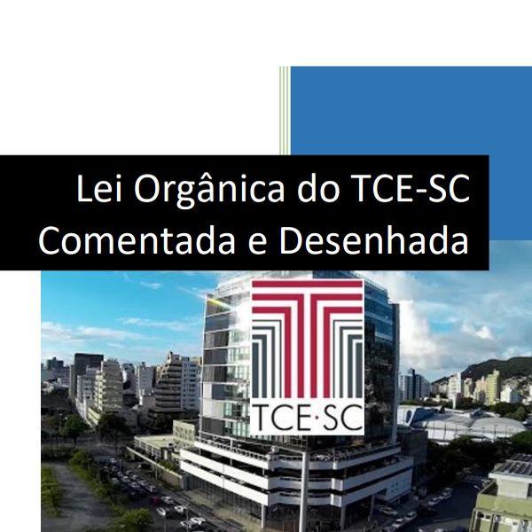 Imagem principal do produto Lei Orgânica do TCE-SC Comentada e Desenhada