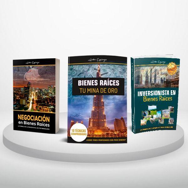 Imagem principal do produto Libros Bienes Raíces (Digital) Heber Espinoza