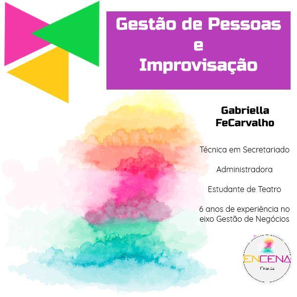 Imagem principal do produto Gestão de Pessoas e Improvisação Teatral