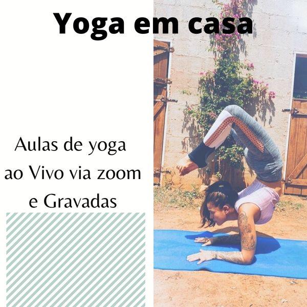 Imagem principal do produto Yoga em Casa