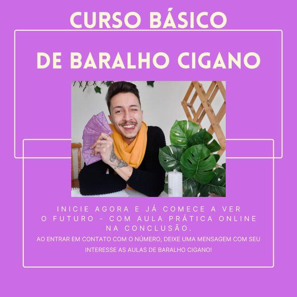 Imagem principal do produto CURSO BARALHO CIGANO 2021
