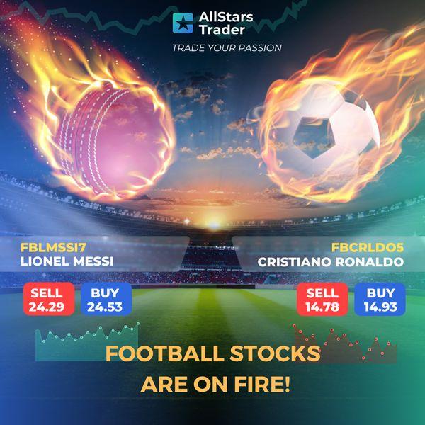 Imagem principal do produto AllStars Trader - La plataforma de trading donde puedes comprar y vender acciones de famosos