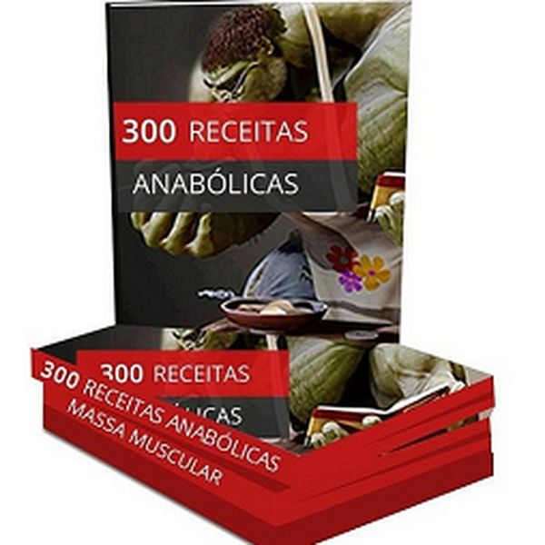 Imagem principal do produto 300 Receitas Anabólicas