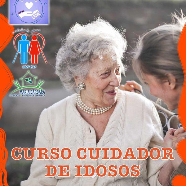 Imagem principal do produto CURSO CUIDADOR DE IDOSOS - TODO EM VÍDEO AULAS