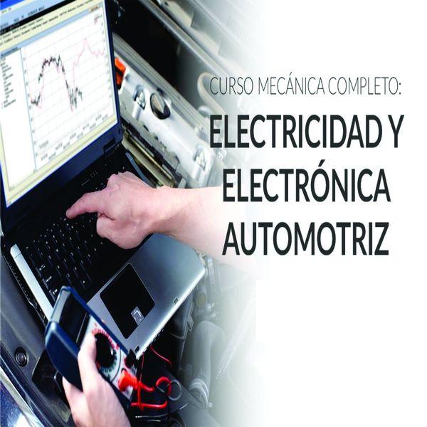 Imagem principal do produto CURSO DE ELECTRICIDAD Y ELECTRONICA DEL AUTOMOVIL