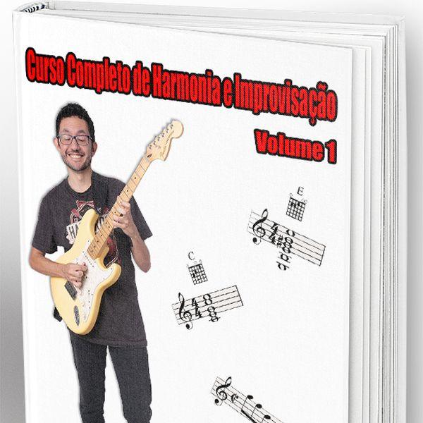 Imagem principal do produto Curso Completo de Harmonia e Improvisação - Volume 1