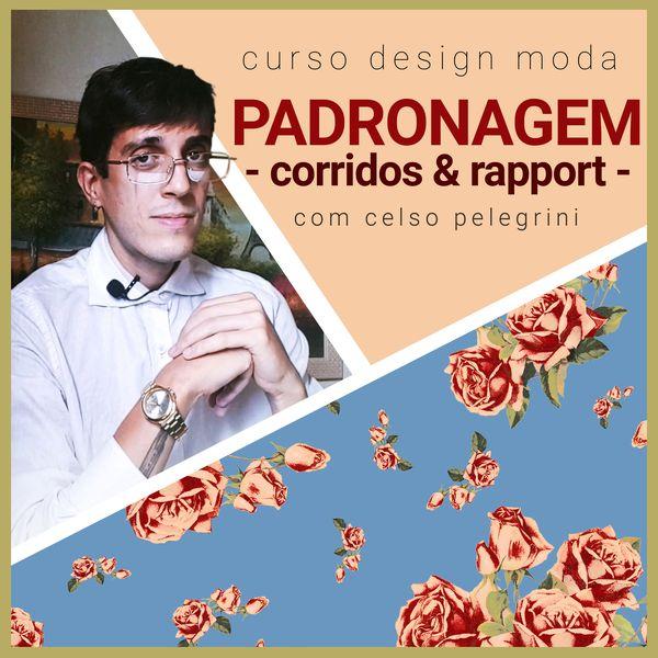Imagem principal do produto Curso de Padronagem, Corridos e Rapport com Celso Pelegrini