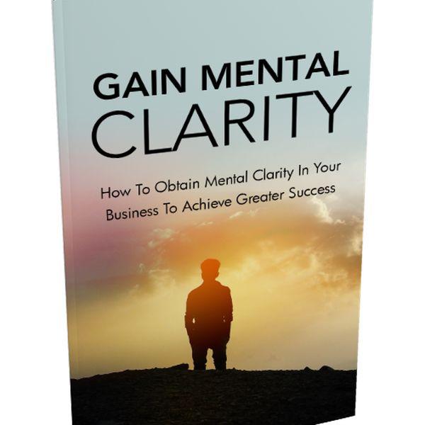 Imagem principal do produto Gain Mental Clarity