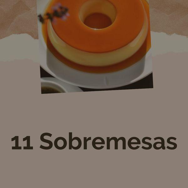 Imagem principal do produto 11 sobremesas
