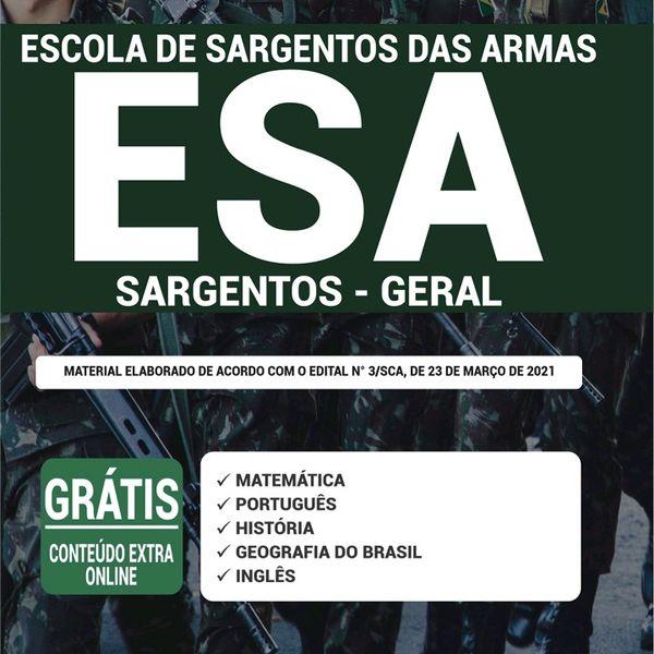 Imagem principal do produto Apostila- Aprova Concursos ESa