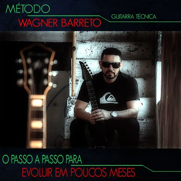 Imagem principal do produto Método para Guitarra | Passo a passo para evolução