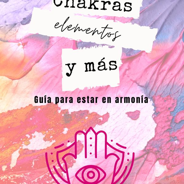 Imagem principal do produto Chakras, elementos y más