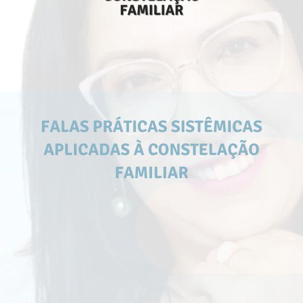 Imagem principal do produto FALAS SISTÊMICAS CONSTELAÇÃO FAMILIAR NA PRÁTICA