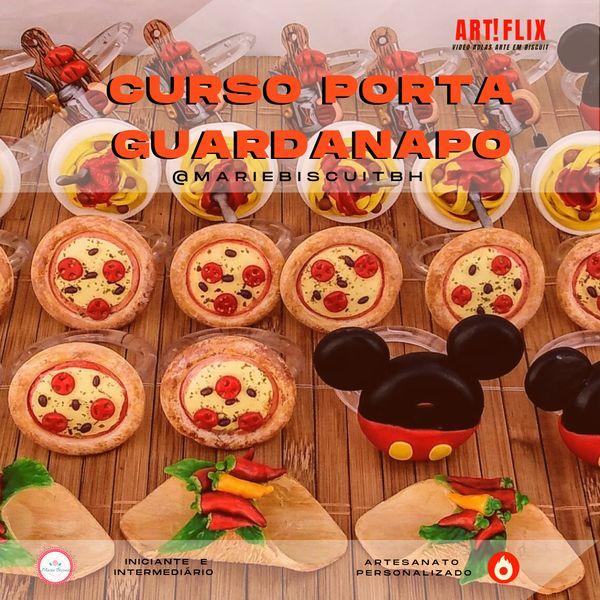 Imagem principal do produto Curso de Modelagem PORTA GUARDANAPO