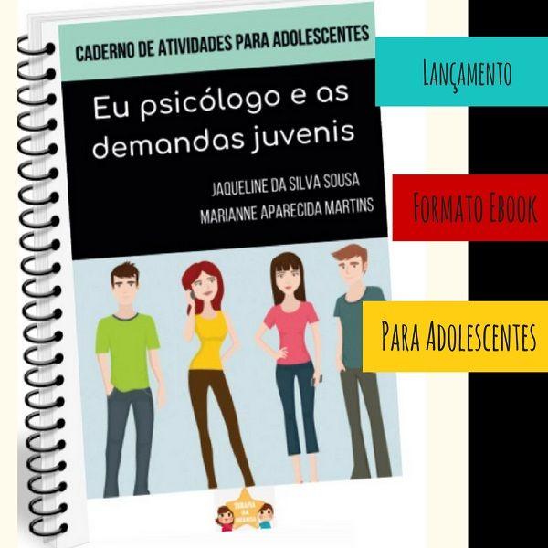 Imagem principal do produto Caderno de atividades: Eu psicólogo e as demandas juvenis