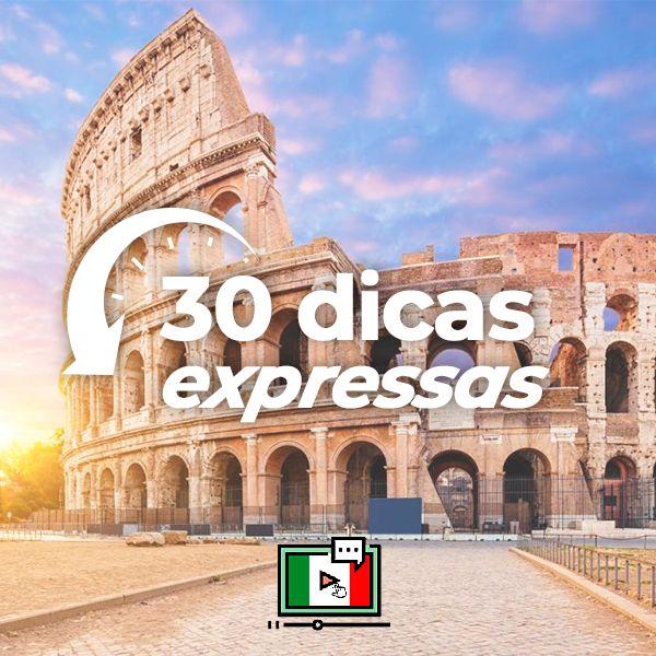 Imagem principal do produto 30 dicas expressas: descomplicando o italiano