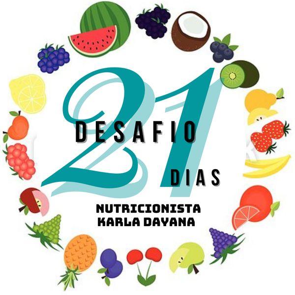 Imagem principal do produto DESAFIO DE 21 DIAS COM NUTRI Karla Dayana