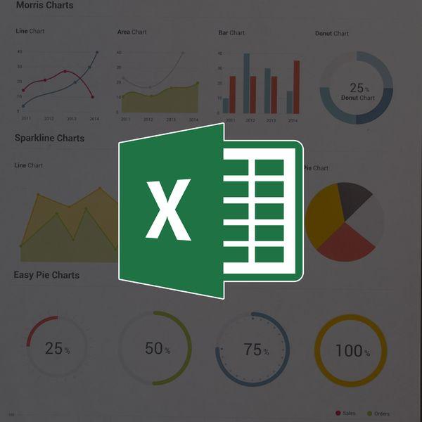 Imagem principal do produto Excel para finanças