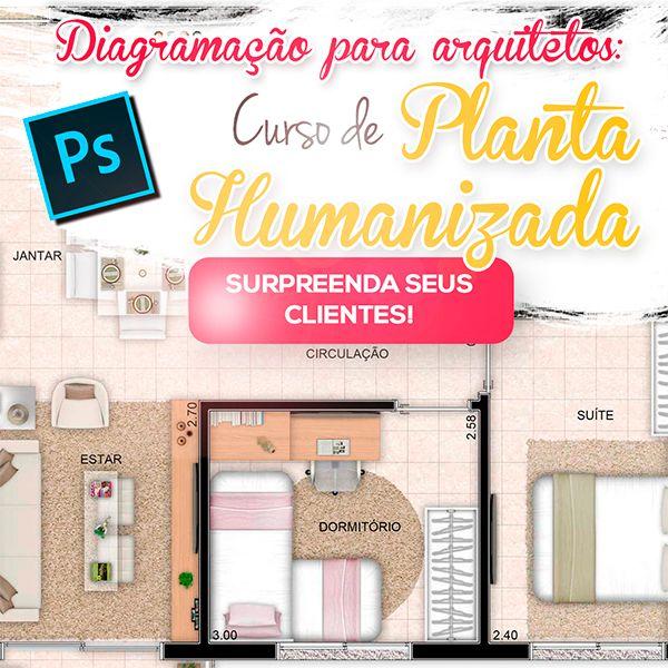 Imagem principal do produto Curso de Planta Humanizada para Photoshop