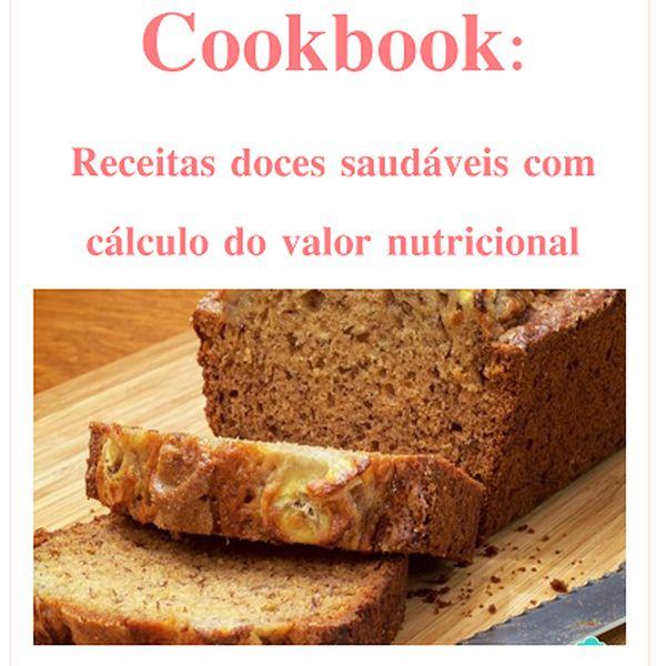 Imagem principal do produto Cookbook de receitas doces saudáveis
