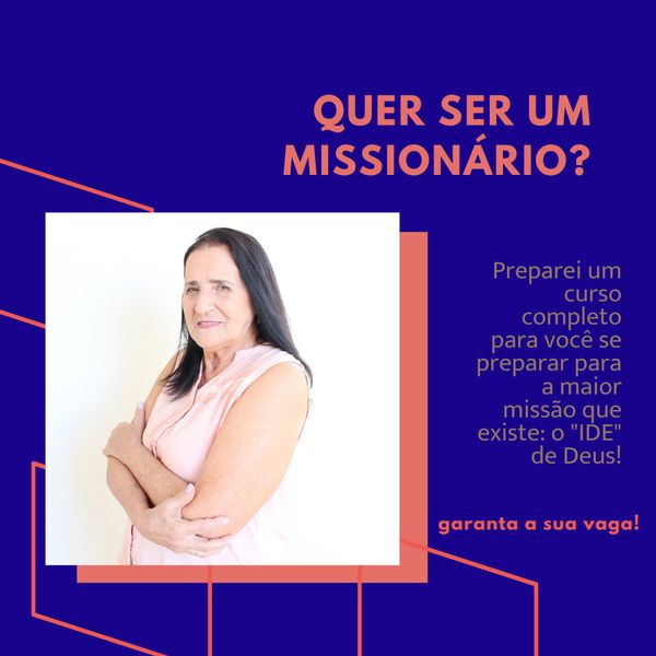 Imagem principal do produto Curso de Missões