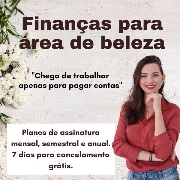 Imagem principal do produto Organização financeira para área de beleza
