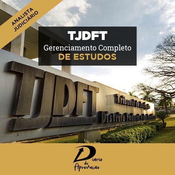 Imagem principal do produto Diário da Aprovação TJDFT - Analista Judiciário