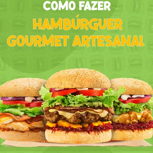 Imagem principal do produto Hambúrguer Gourmet Artesanal