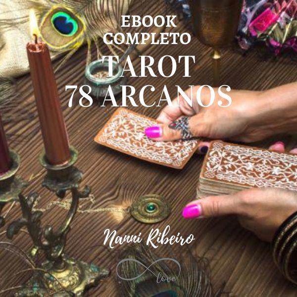 Imagem principal do produto e-Book completo de Tarot 78 Arcanos