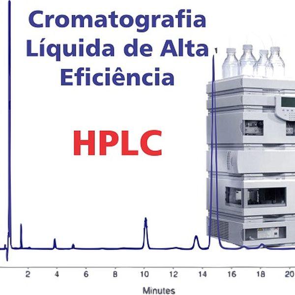 Imagem principal do produto HPLC - Cromatografia Líquida de Alta Eficiência