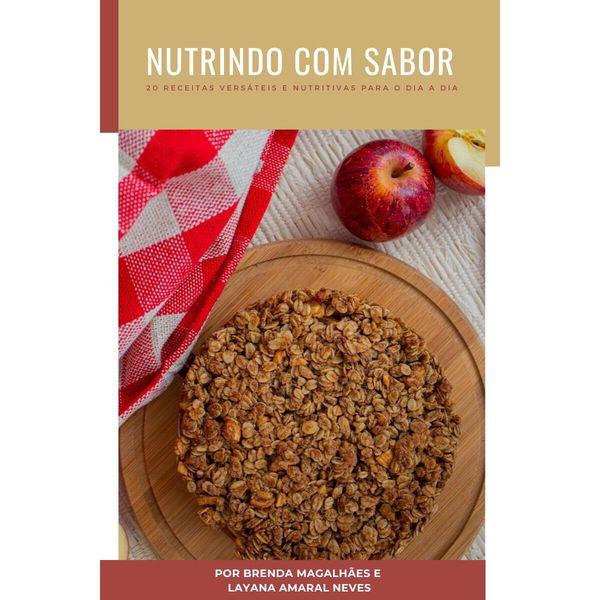 Imagem principal do produto E-book de receitas Nutrindo com Sabor