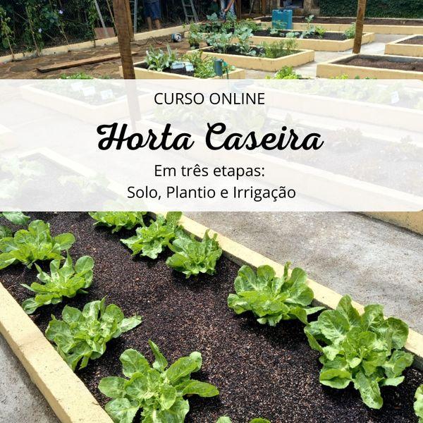 Imagem principal do produto Horta Caseira em Três Etapas