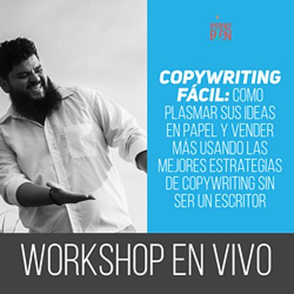 Imagem principal do produto Copywriting Fácil: Como Plasmar Sus Ideas en Papel y Vender Más Usando Las Mejores Estrategias de Copywriting Sin Ser Un Escritor
