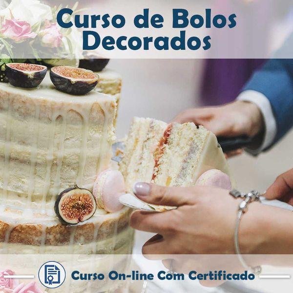 Imagem principal do produto Curso de Bolos Decorados