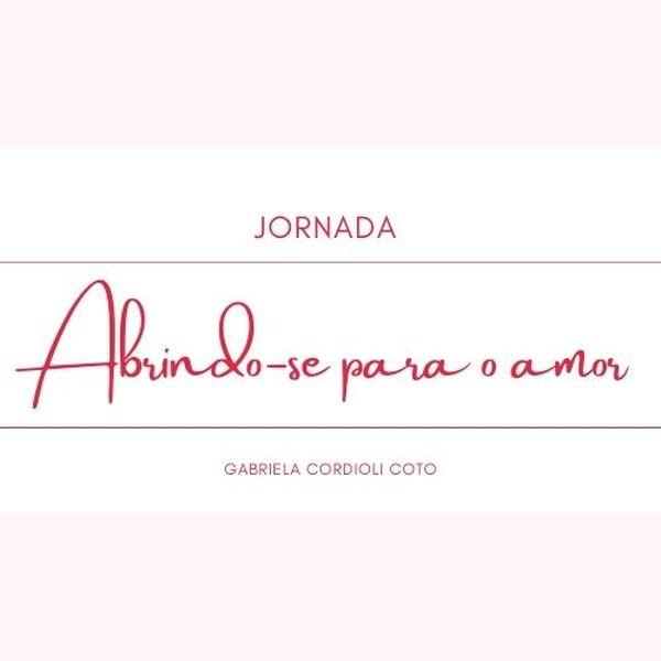 Imagem principal do produto JORNADA ABRINDO-SE PARA O AMOR