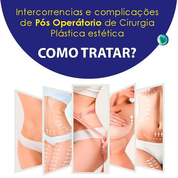 Imagem principal do produto INTERCORRÊNCIAS E COMPLICAÇÕES DE PÓS OPERATÓRIO DE CIRURGIA PLÁSTICA ESTÉTICA: COMO TRATAR