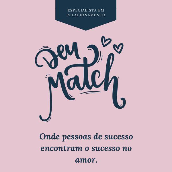 Imagem principal do produto Deu Match - Manual do A ao Z de como atrair um homem de alto nivel