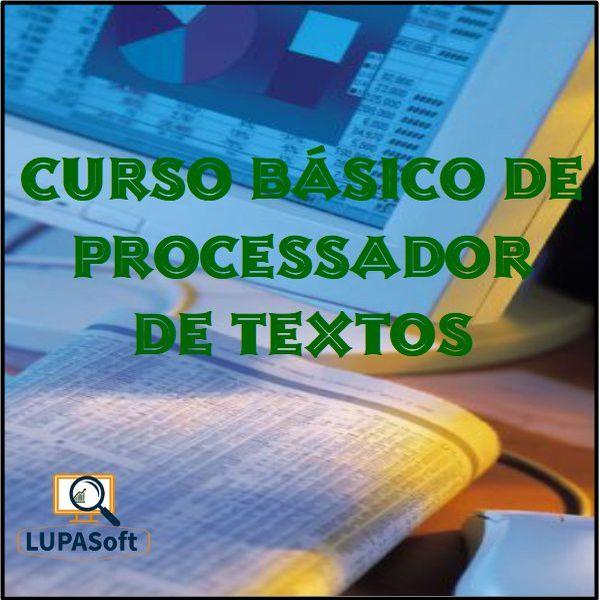 Imagem principal do produto Curso Básico de Processador de Textos