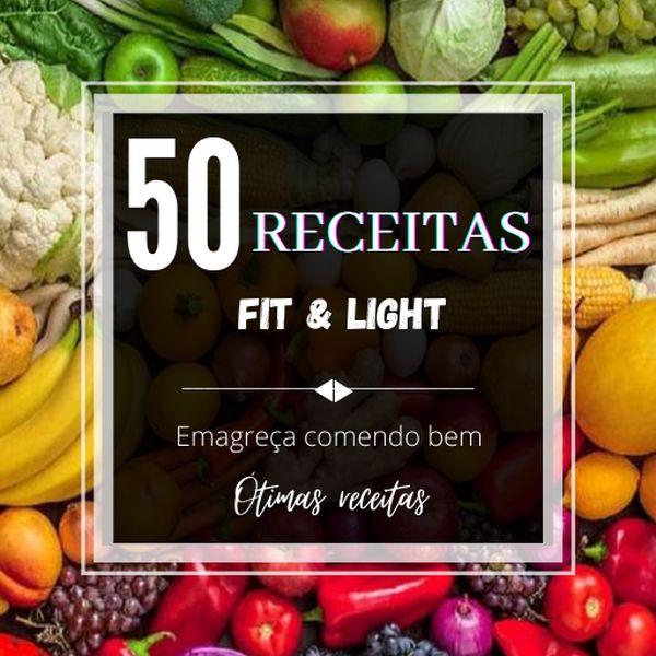 Imagem principal do produto 50 receitas fit e light