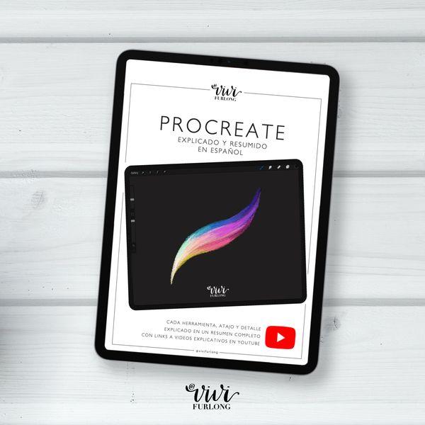 Imagem principal do produto PROCREATE explicado y resumido en español