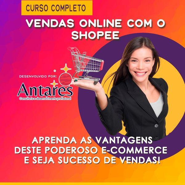 Imagem principal do produto Curso Completo de Vendas Online Shopee