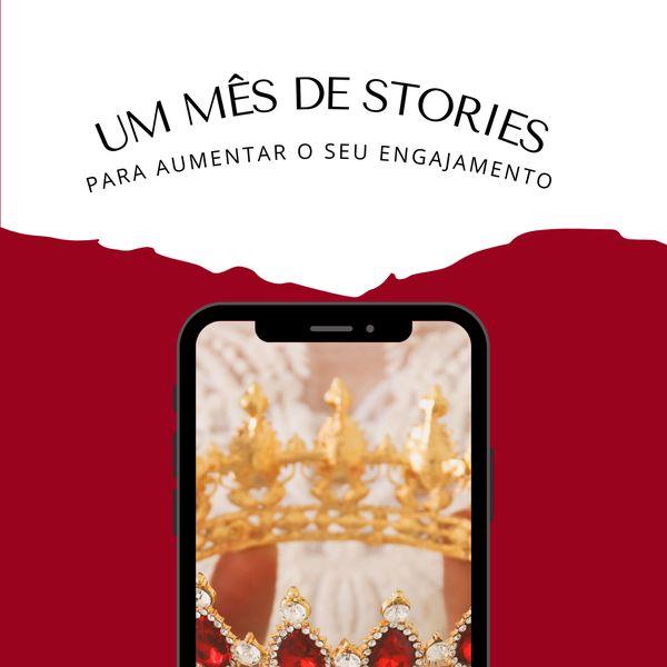 Imagem principal do produto 1 MÊS DE STORIES