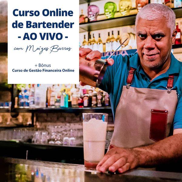 Imagem principal do produto Curso Online de Bartender Avançado