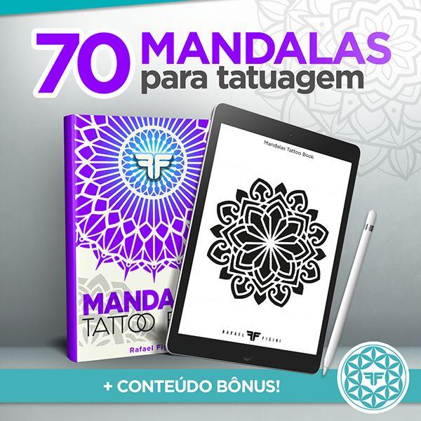 Imagem principal do produto MANDALAS | Tattoo Book por Rafael Figini