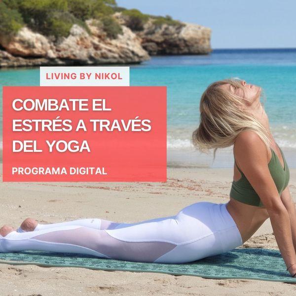 Imagem principal do produto Combate el estrés a través del Yoga