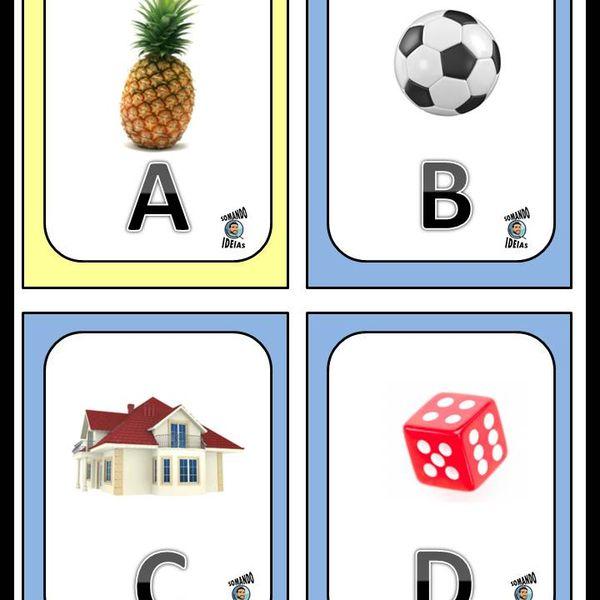 Imagem principal do produto Conhecendo o alfabeto